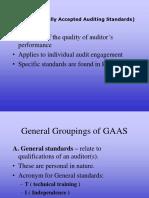 Audit Evidence, Procedures and Documentation