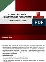 Codigo Rojo en Hemorragias Postparto