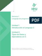Apuntes S1-Lenguaje de programacion C