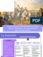 ciclos revolucionarios independentistas.
