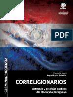 CORRELIGIONARIOS - MARCELLO LACHI - RAQUEL ROJAS SCHEFFER - ANO 2018 - PORTALGUARANI