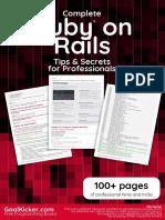 Ruby on Rails Professional Tips Secrets