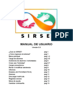 Manual de usuario plataforma Sirse