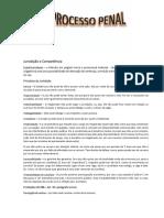 Processo Penal Resumo Subs PDF