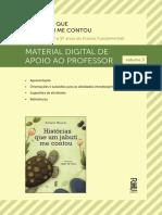 Historias Que Um Jabuti Manual Do Professor Vol 3
