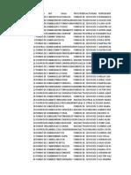 Base de datos genero