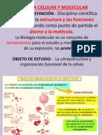 1era Clase - Biomoleculas