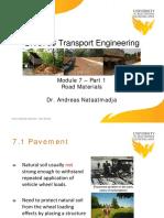 CIV3703 Transport Engineering(USQ)