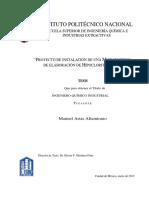 Tesis Proyecto de Instalación de Una Microempresa de Elaboración de Hipoclorito de Sodio (1)