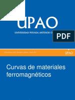Maq. 1.2 Curvas Ferromagnéticas