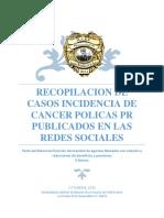 Recopilacion de casos incidencia de cancer policías PR publicados en las redes sociales.docx