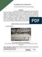 Pruebas Generales Para Carbohidratos Bioquimica