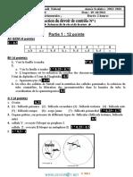 Devoir Corrigé de Contrôle N°1 - SVT - Bac Sciences exp (2012-2013) Mr Mzid mourad.pdf
