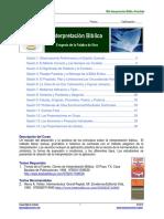 Interpretación Bíblica Portafolio