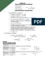 Formulas para Transformar Coordenadas