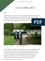 The Life of Dr. Scott Rifkin, M.D. - Scott Rifkin - Medium