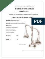 ORGANISMOS SINDICALES.docx
