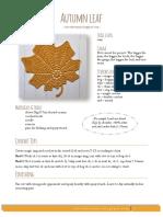 Autumn Leaf Crochet