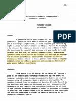 Tarallo - Por Uma Sociolinguística Românica Paramétrica - Leitura