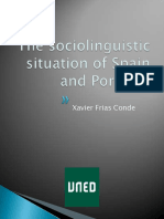 The Sociolinguistical Situation of Spain