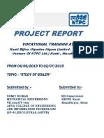 industrial training report ntpc