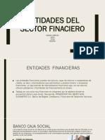 Entidades Del Sector Finaciero
