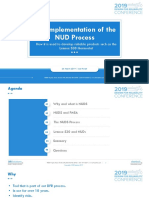 The Implementation of NUD Process_Joe Powell _FINAL_REVIEWED