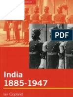 India 1885 to 1947