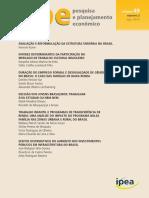 PPE - Pesquisa e Planejamento Econômico - 49 - nº 02