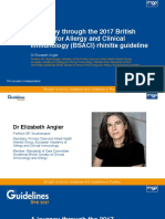 2017 British Society for Allergy and Clinical Immunology BSACI Rhinitis Guideline