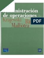 Administracion de Operaciones por Lee Krajewski  & Larry Ltzman