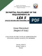 Police Record Case Study