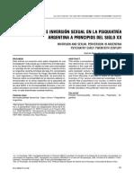 Falcone y García Neira - Perversión e inversión sexual en la psiquiatría de ppios del sXX