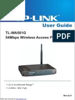 54Mbps Wireless Access Point TL-WA501G