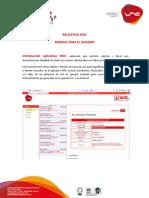 Guia Al Usuario Aplicativo NOCv2