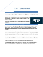 Automation of HCM Extract