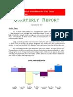 Quarter Report Q3.19