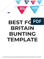 Best for Britain - Make your own bunting guide