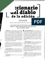 Viehl - Diccionario Del Diablo de La Edición (2008)