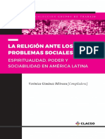 La Religion Ante Los Problemas Sociales