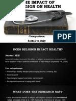impact of religion on health