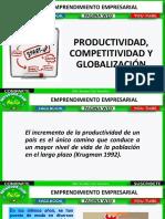 Competitividad y Productividad, y La Globalización