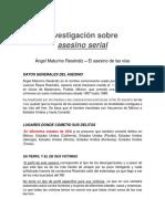 ASESINO SERIAL Investigacion