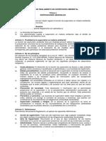 Reglamento Modelo de Supervision Ambiental