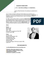 Biografía Rubén Darío