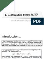 10 Parte Formas Diferenciales en Rn