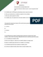 Preparación prueba Matemáticas I  20-08-19