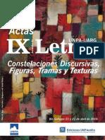 Actas IX Jornadas de Letras UNPA UARG