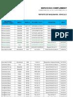 Reporte de Maquinaria y Vehiculos Media Tension 17 de Dic. 2018