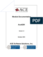 Copy of Module Information AceADK Ver1.0 26102010